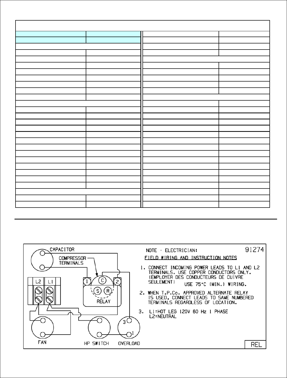 Tecumseh Ae4440u Aa1ack Performance Data Sheet 32g365 39s Rel Alternating Relay Switch Circuit Schematic Diagram Unit Bom Condenser 506 G434