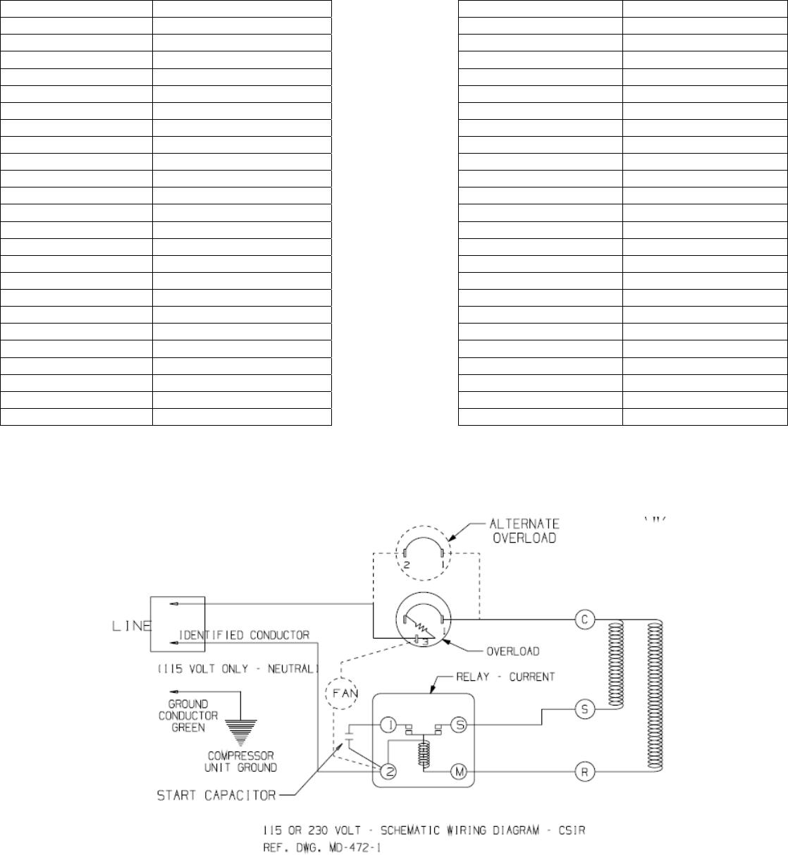 Berühmt Tecumseh Kompressor Schaltplan Zeitgenössisch - Elektrische ...