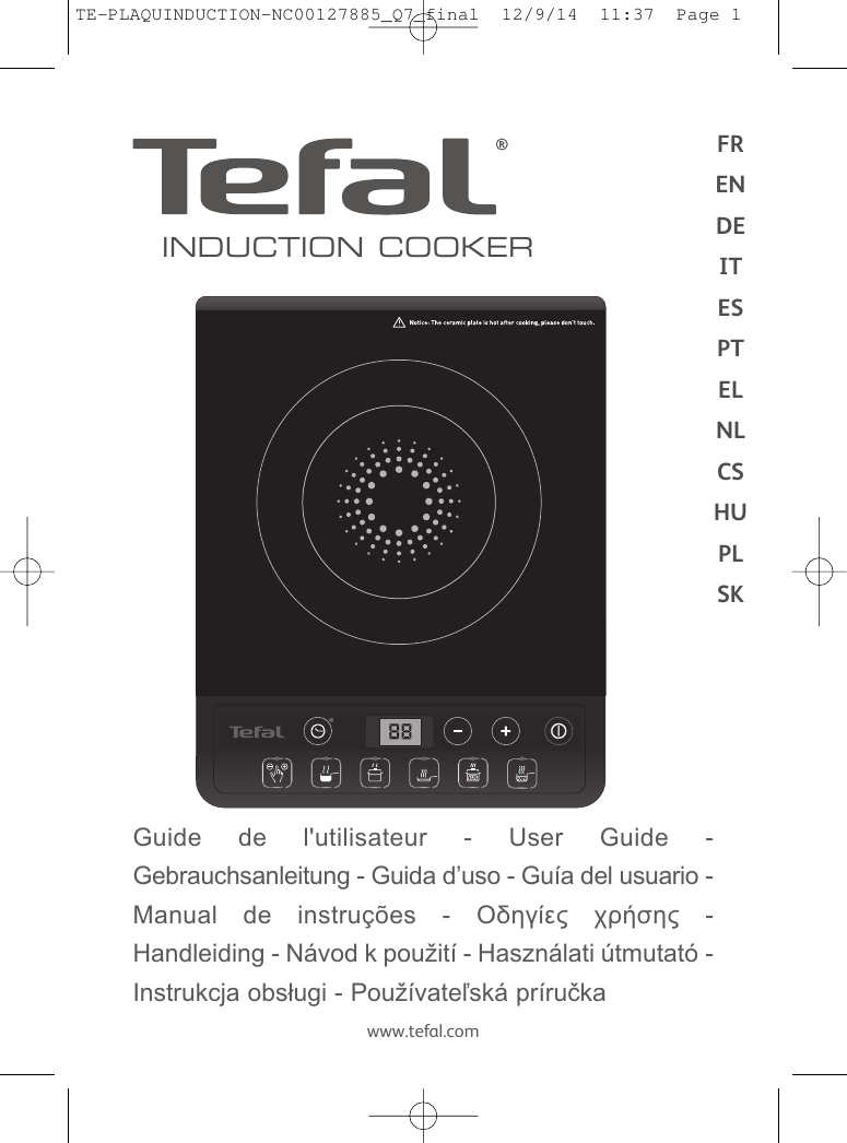 Tefal Ih201812 Instruction Manual Mise En Generator Schematic Beck Mag Ic Pulser Emp Pulse