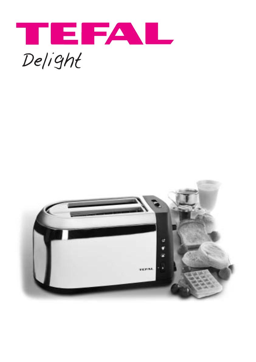 Tefal Tt812116 Instruction Manual Notice Delight Ref 3305097 B