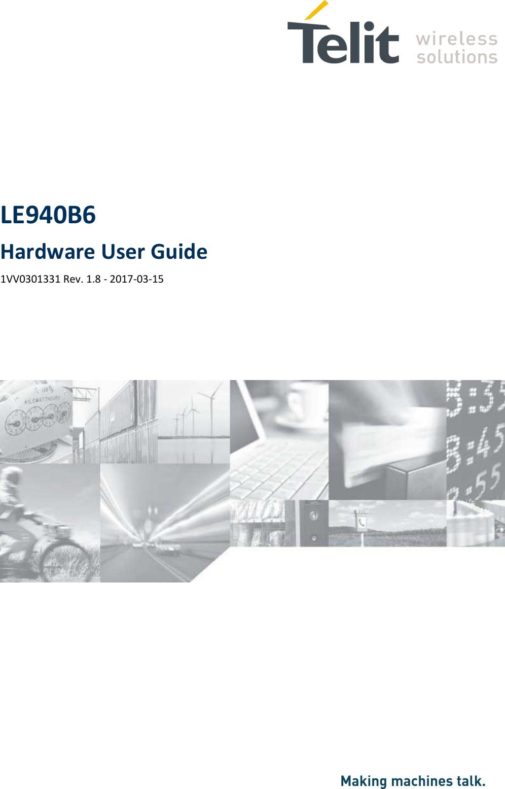 LE940B6 Hardware User Guide 1VV0301331 Rev. 1.8 - 2017-03-15