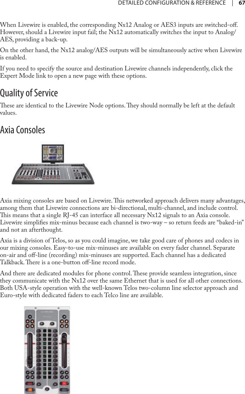 Telos Nx12 Users Manual