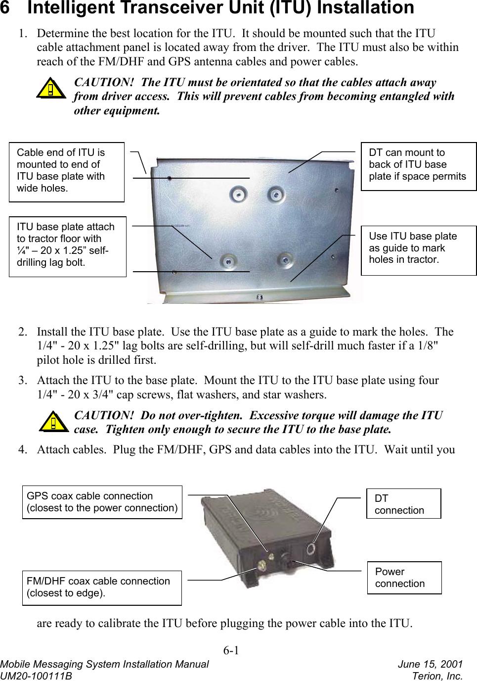 Terion 5234DHFM Mobile Messenger DHF-2000 User Manual Mobile