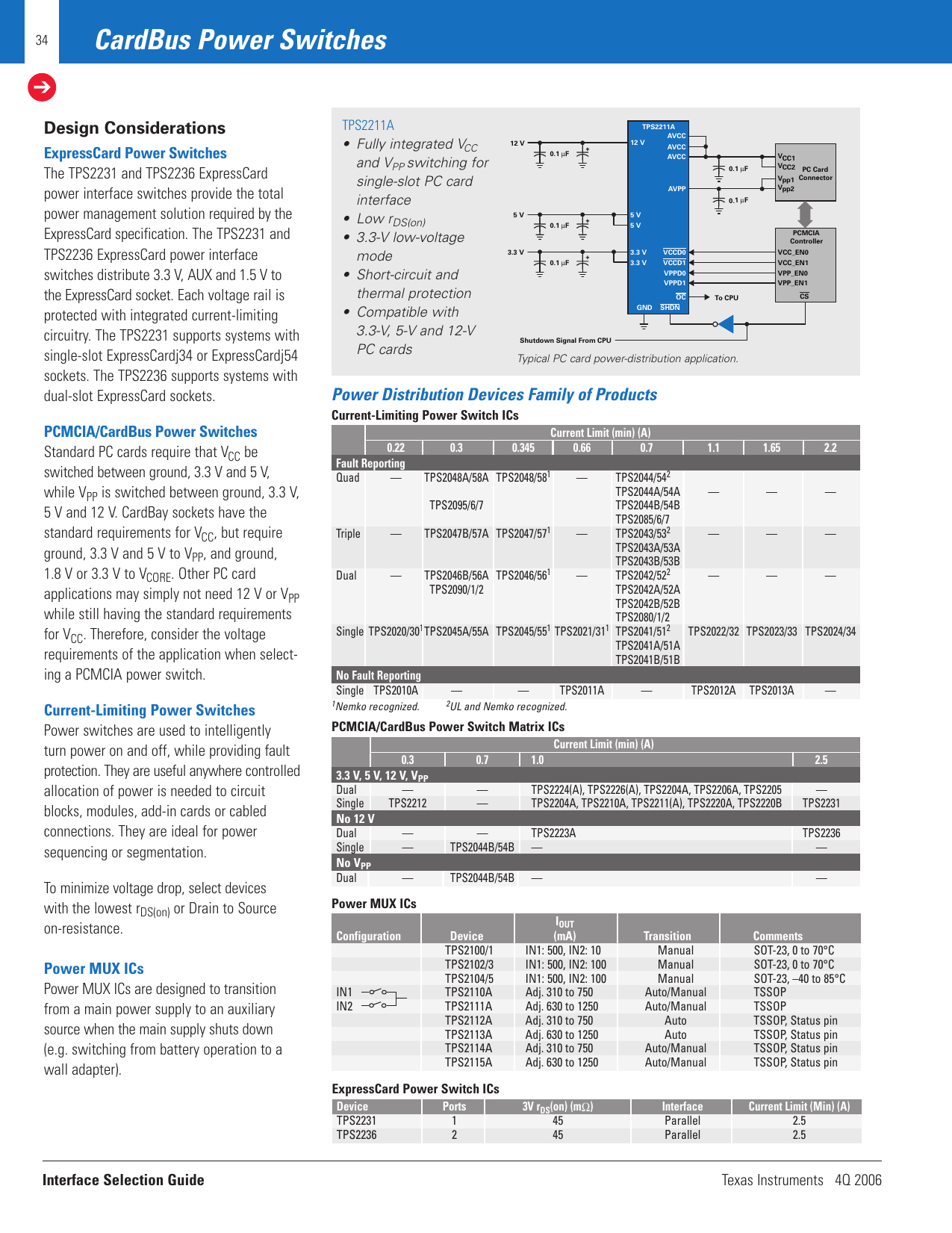 Texas Instruments Technology For Innovators 4Q 2006 Users