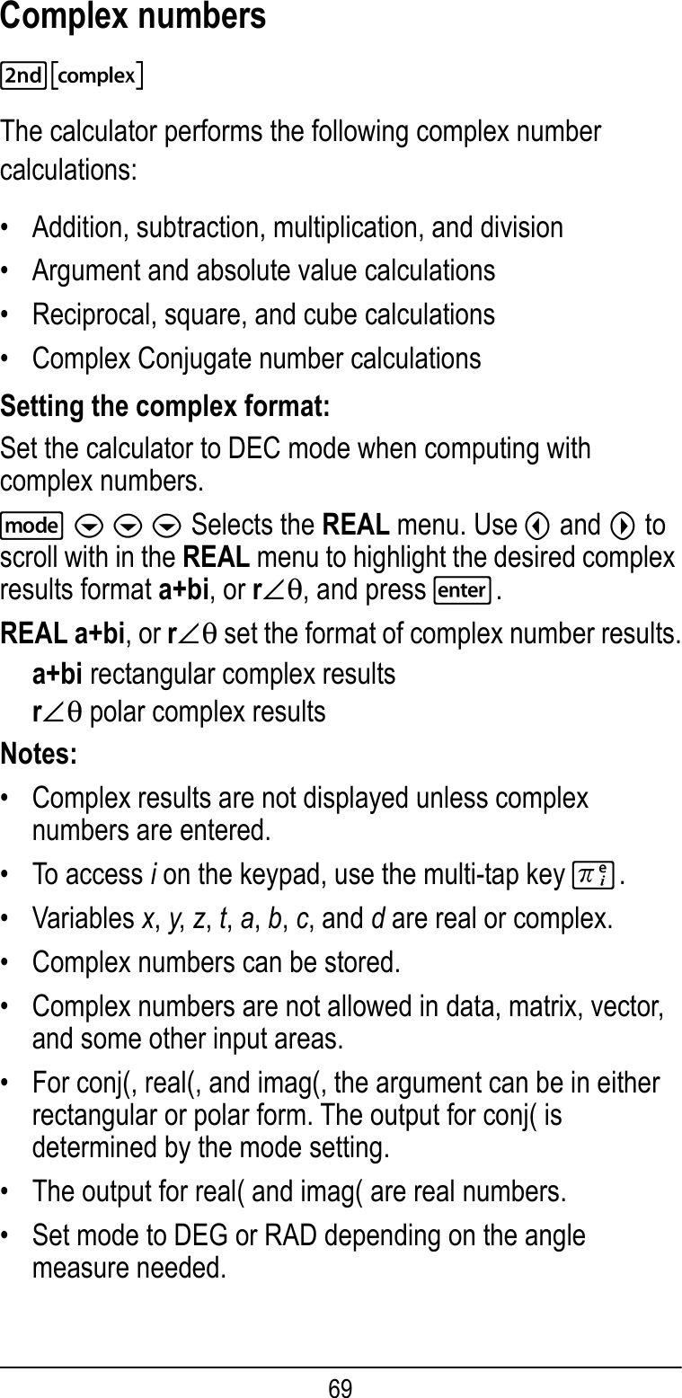 Texas Instruments Ti 36X Pro Users Manual ManualsLib Makes It Easy