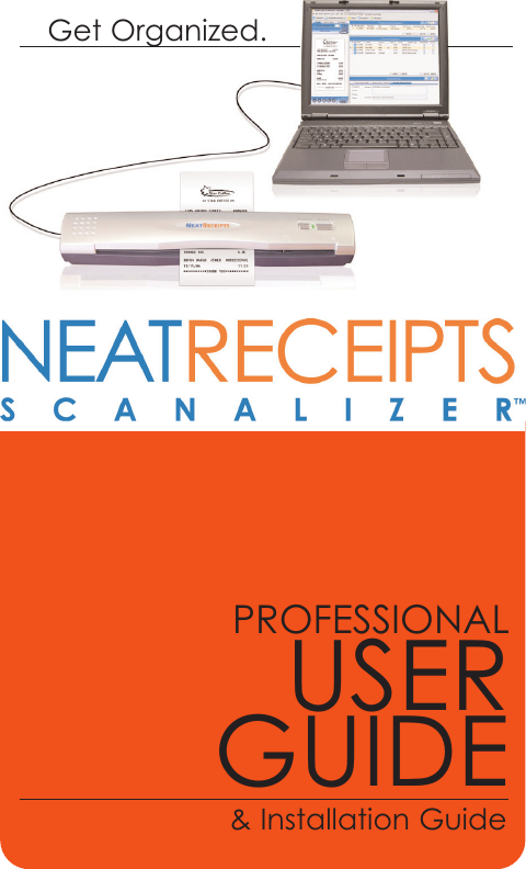 the neat company receipts neatdesk desktop scanner 315 users manual ch1 2 nrprof jan 2007 qxp neat receipts scanner manual NeatReceipts Scanner