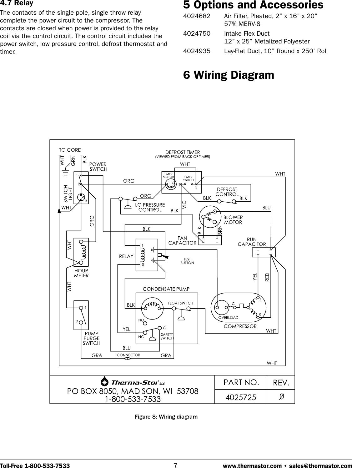 Therma Stor Products Group Phoenix 200 Ht Users Manual Wiring Diagram Page 7 Of 9