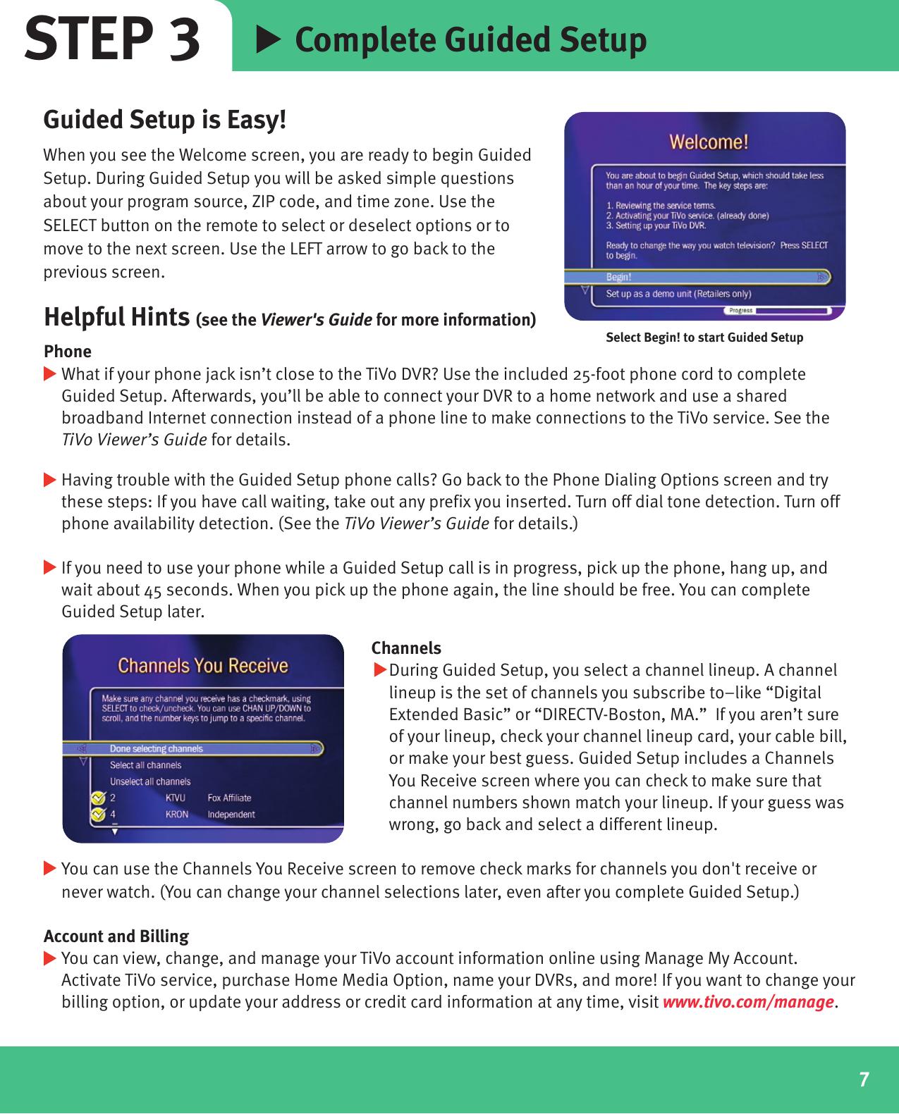 Tivo Digital Video Dvr Recorders R24008A Users Manual