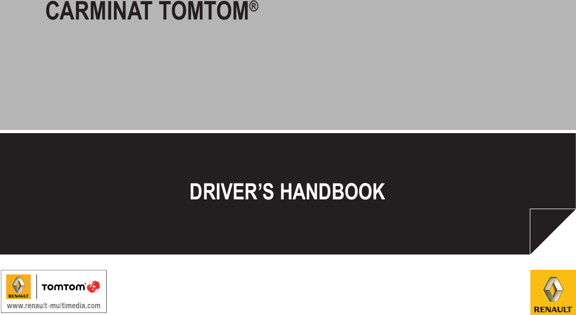 Tomtom Carminate Reference Guide