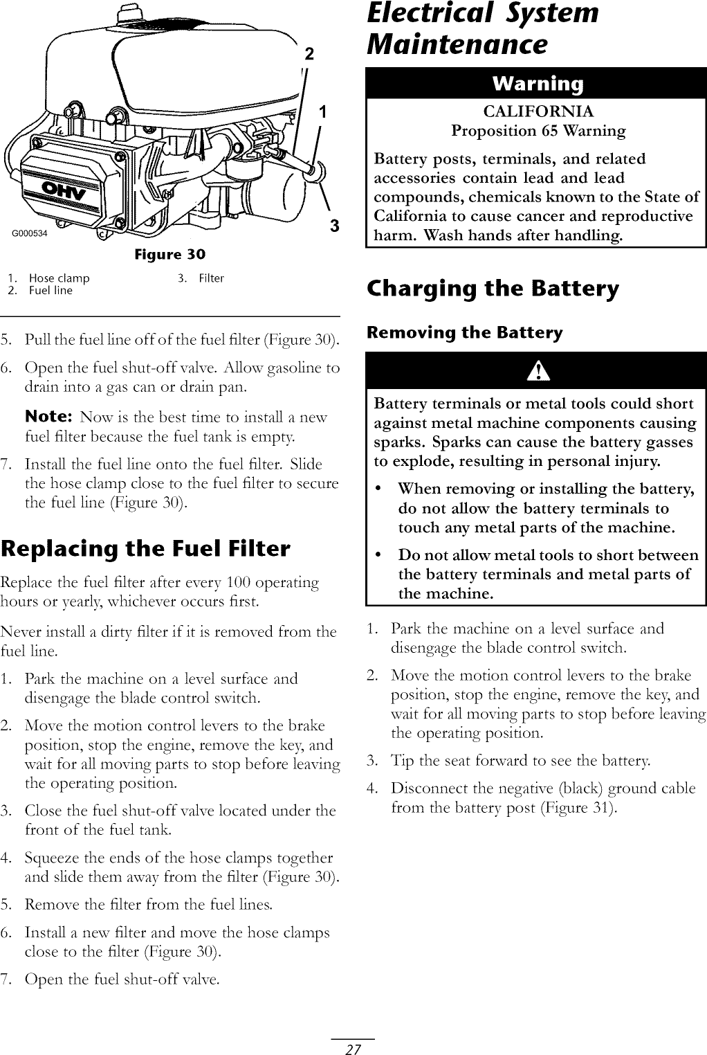 Toro 74327 (260000001 260019999) User Manual RIDING MOWER
