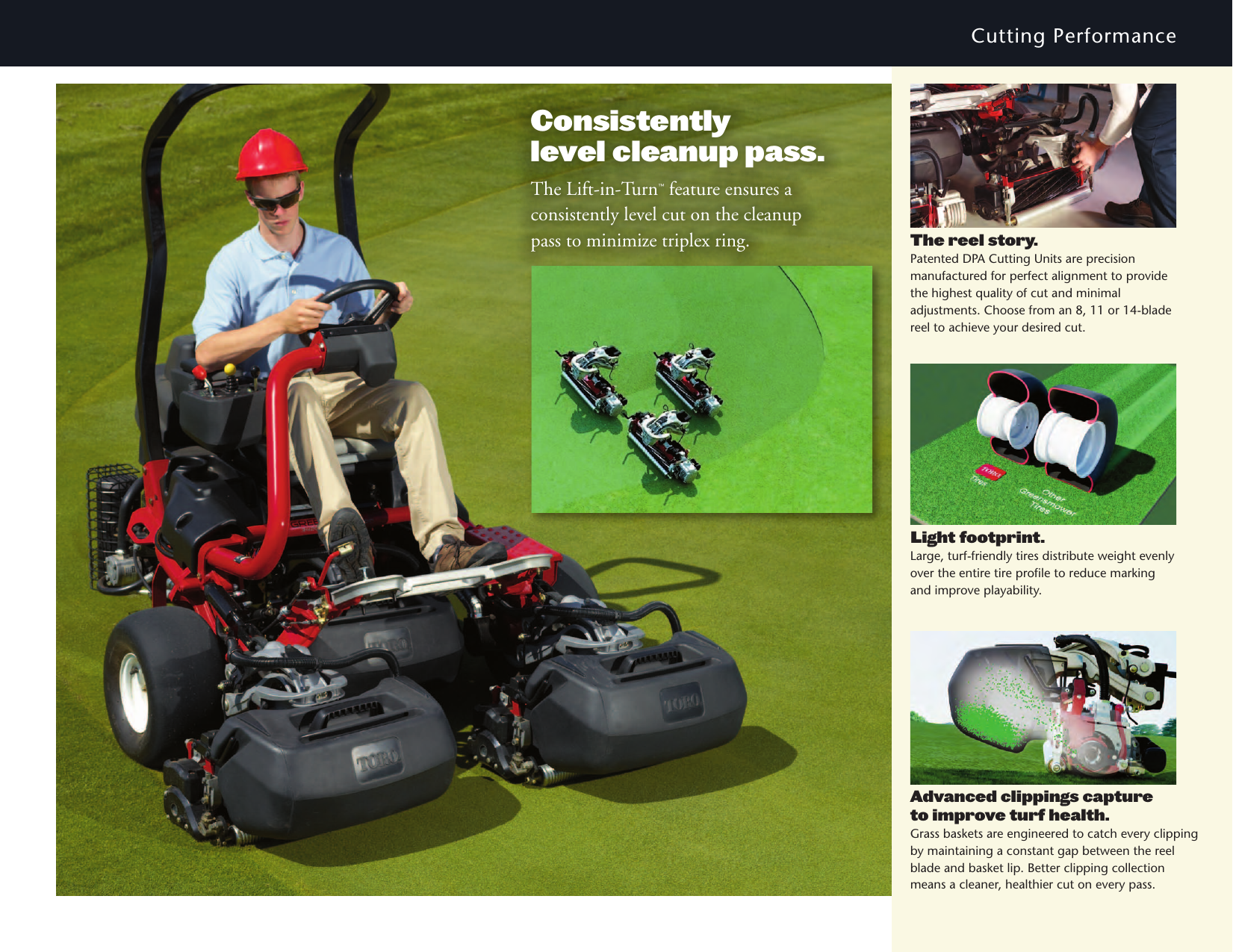 Toro Greensmaster Triflex Hybrid 3320 Brochure