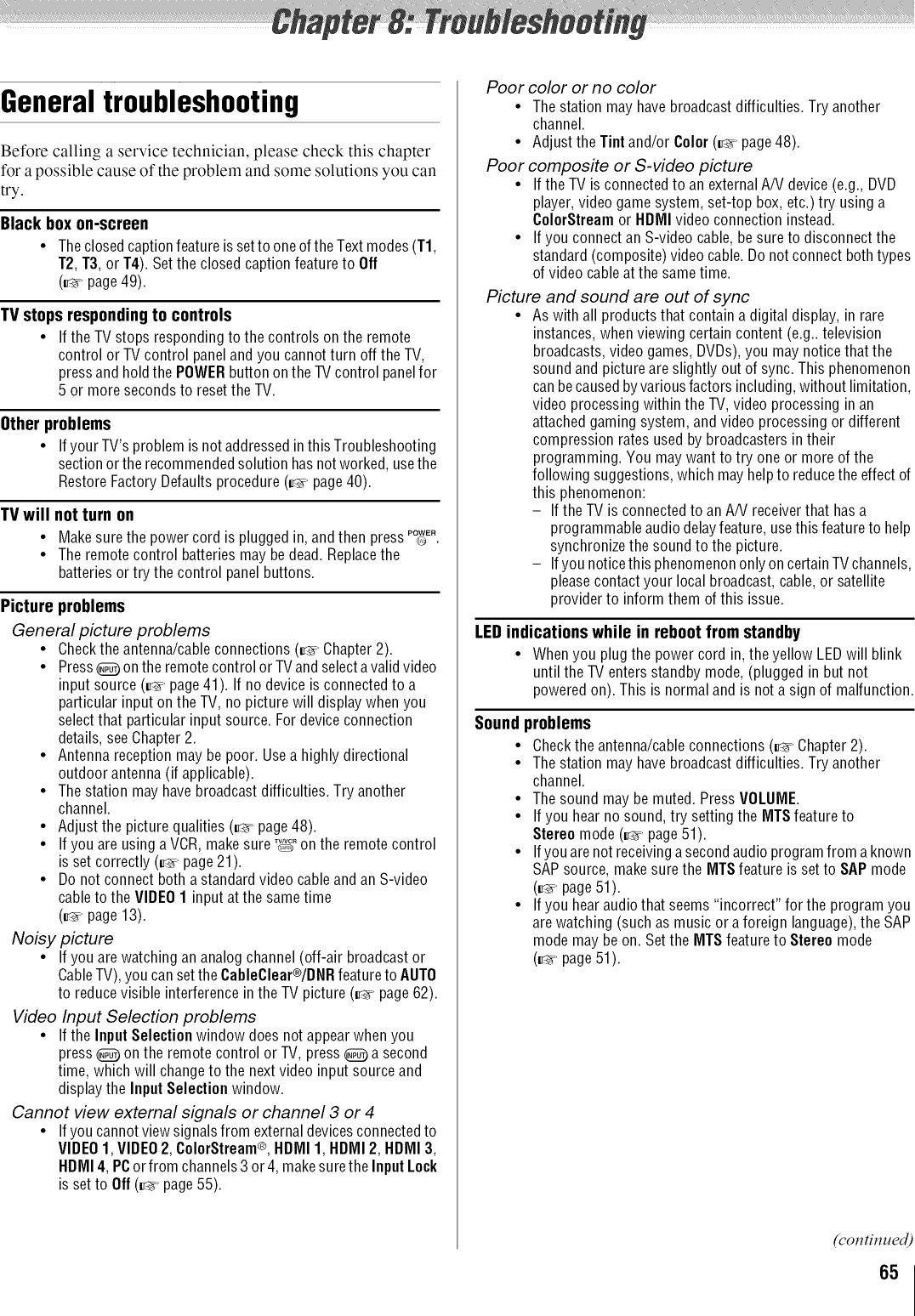 Toshiba 42XV540U User Manual LCD TELEVISON Manuals And