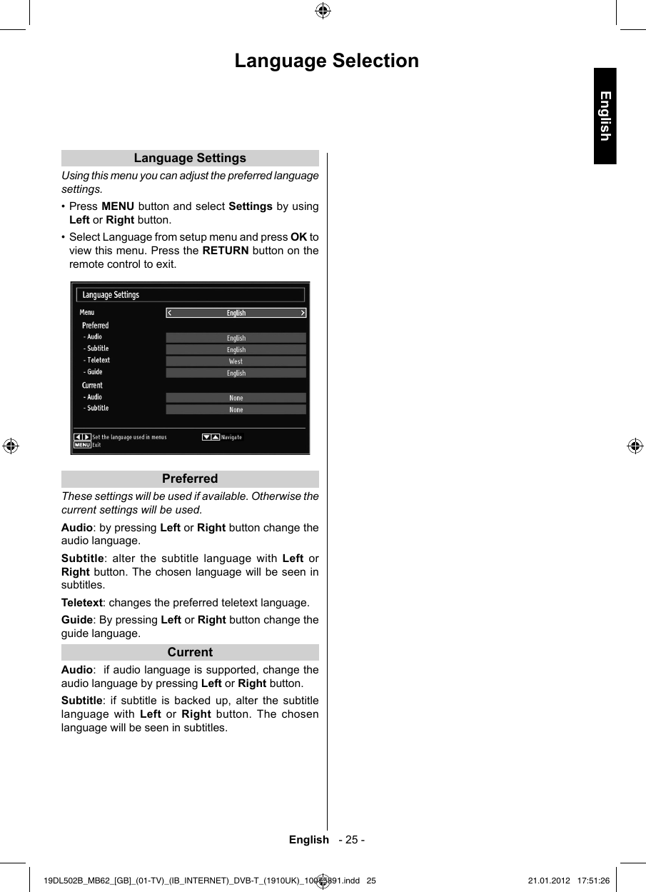 Toshiba 19Dl502B Owners Manual ManualsLib Makes It Easy To