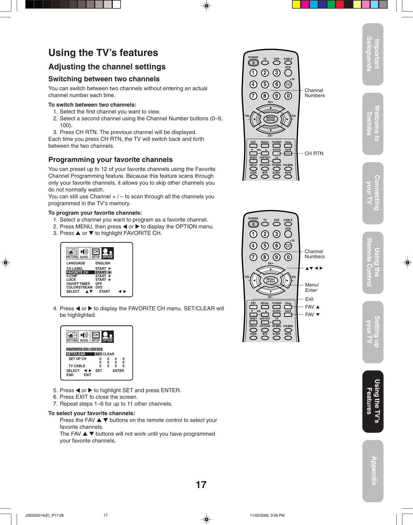 Toshiba 27A45 Owners Manual