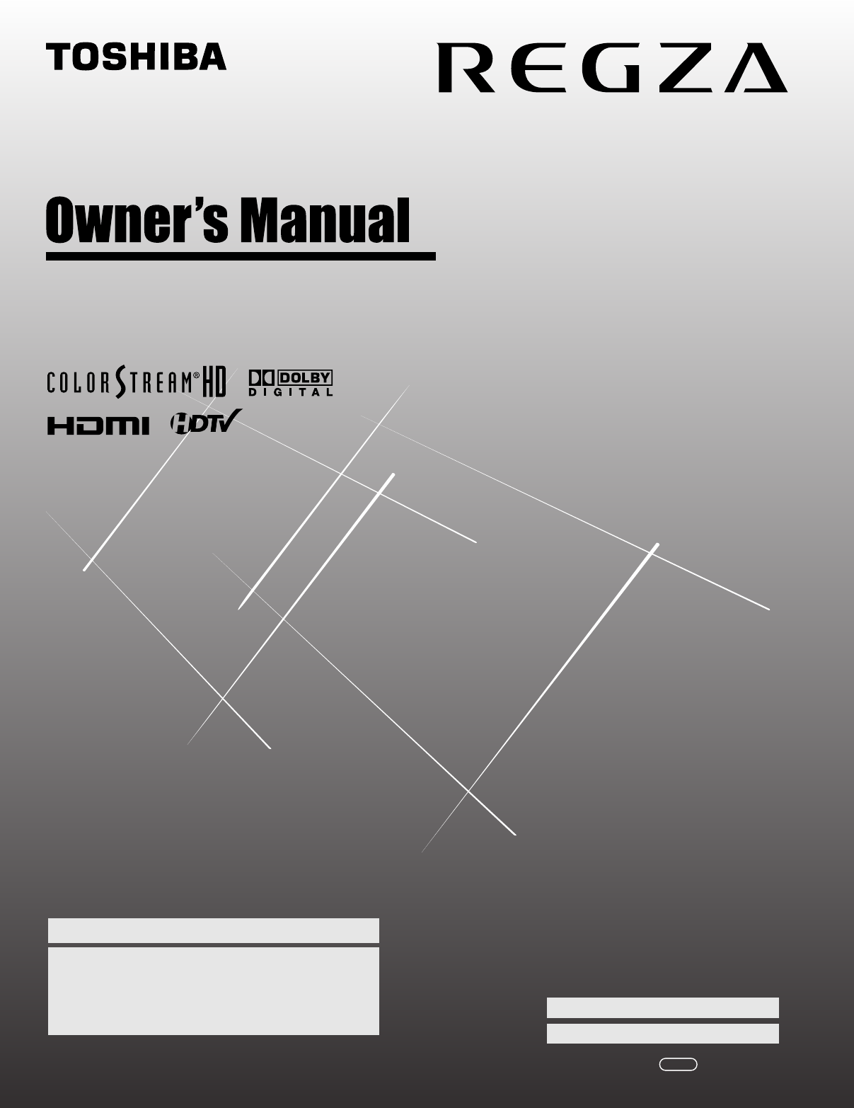 Toshiba 42Xv540U Owners Manual