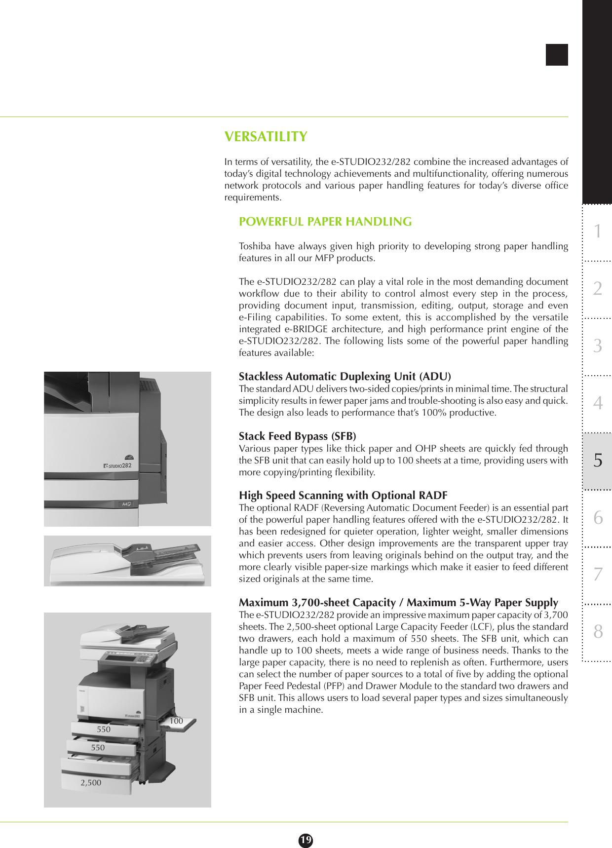 Toshiba E Studio 232 Users Manual