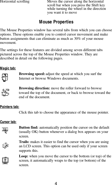 Toshiba T400 Users Manual PORTMiniMse