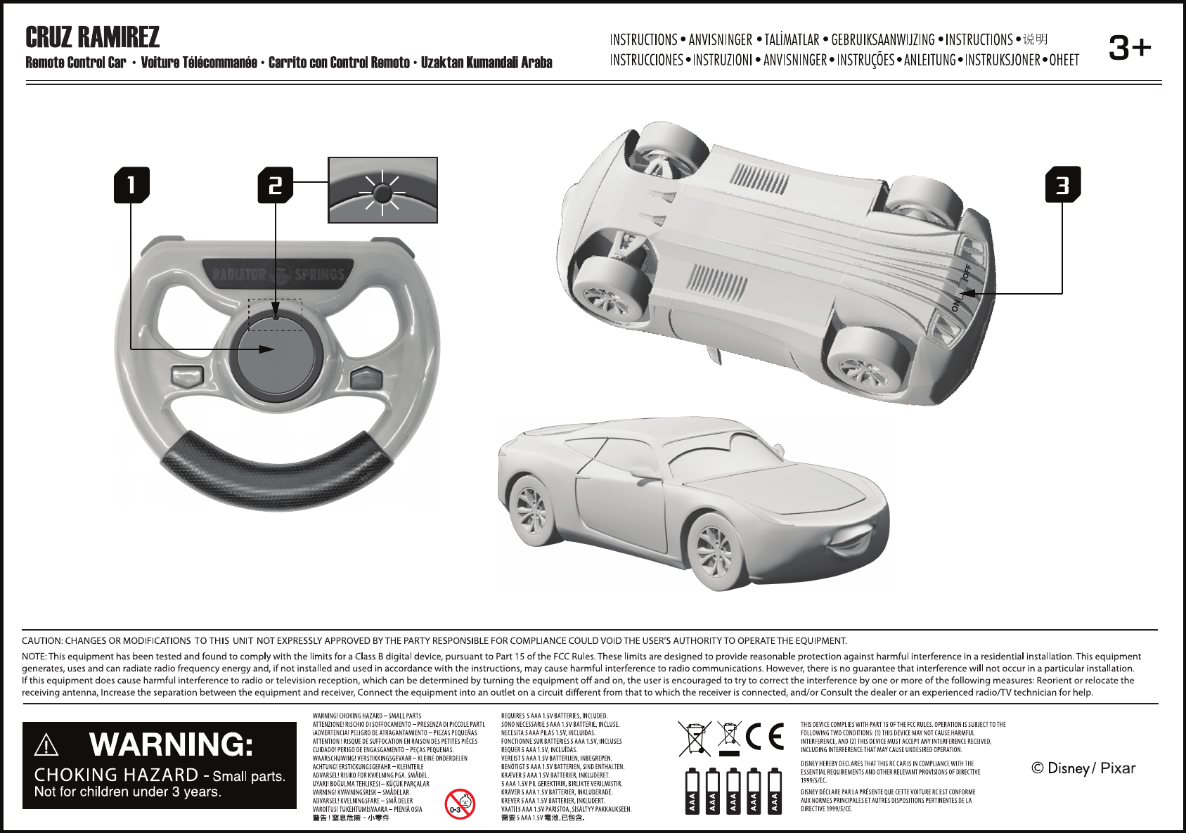toy int104 cars 3 rc user manual cars rc instruction sheets outlined rh usermanual wiki cars user manual car user manuals online