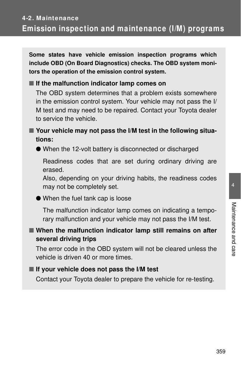 Toyota OM52D73U