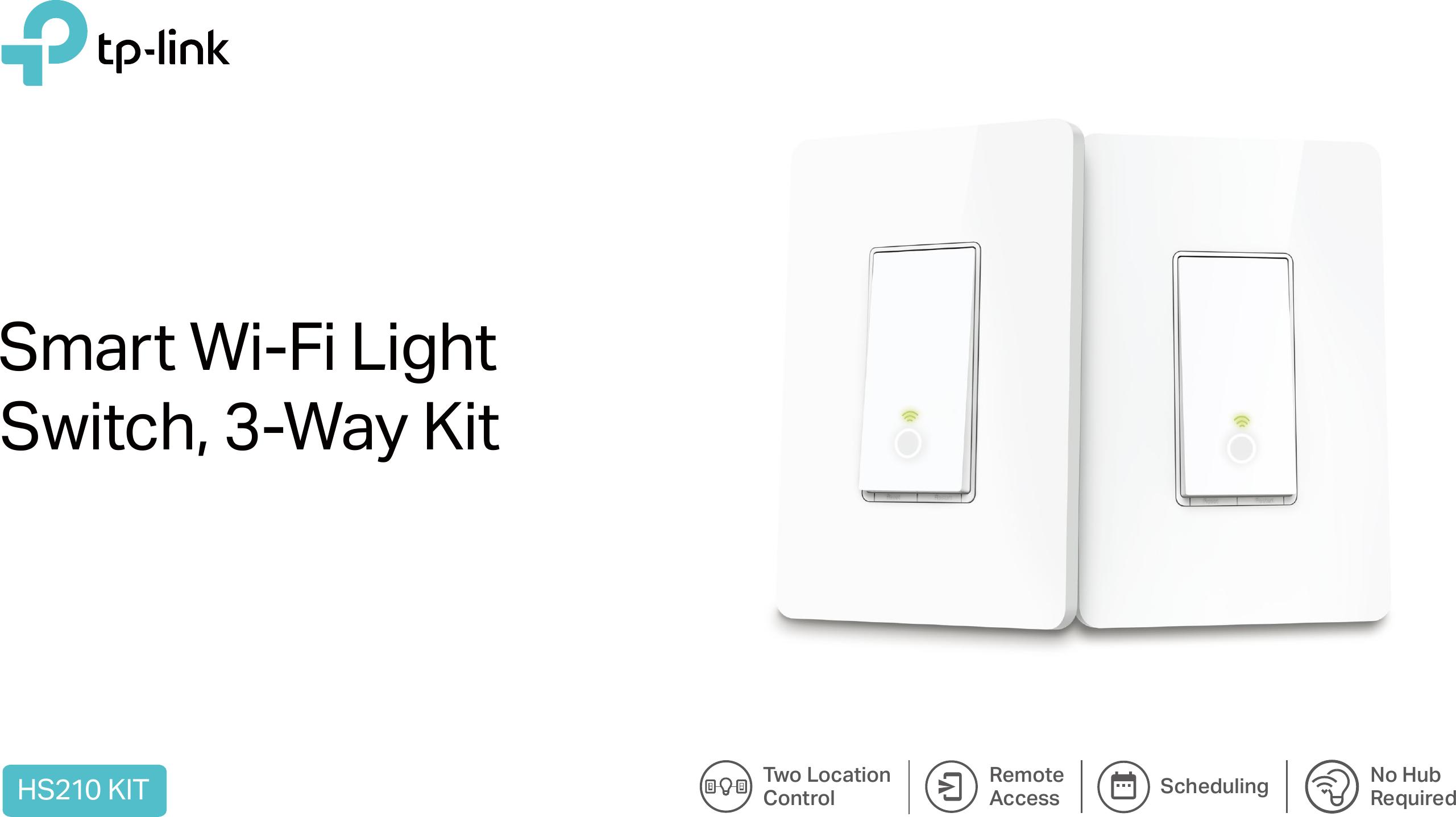 Hs210us10 Smart Light Switch 3 Way