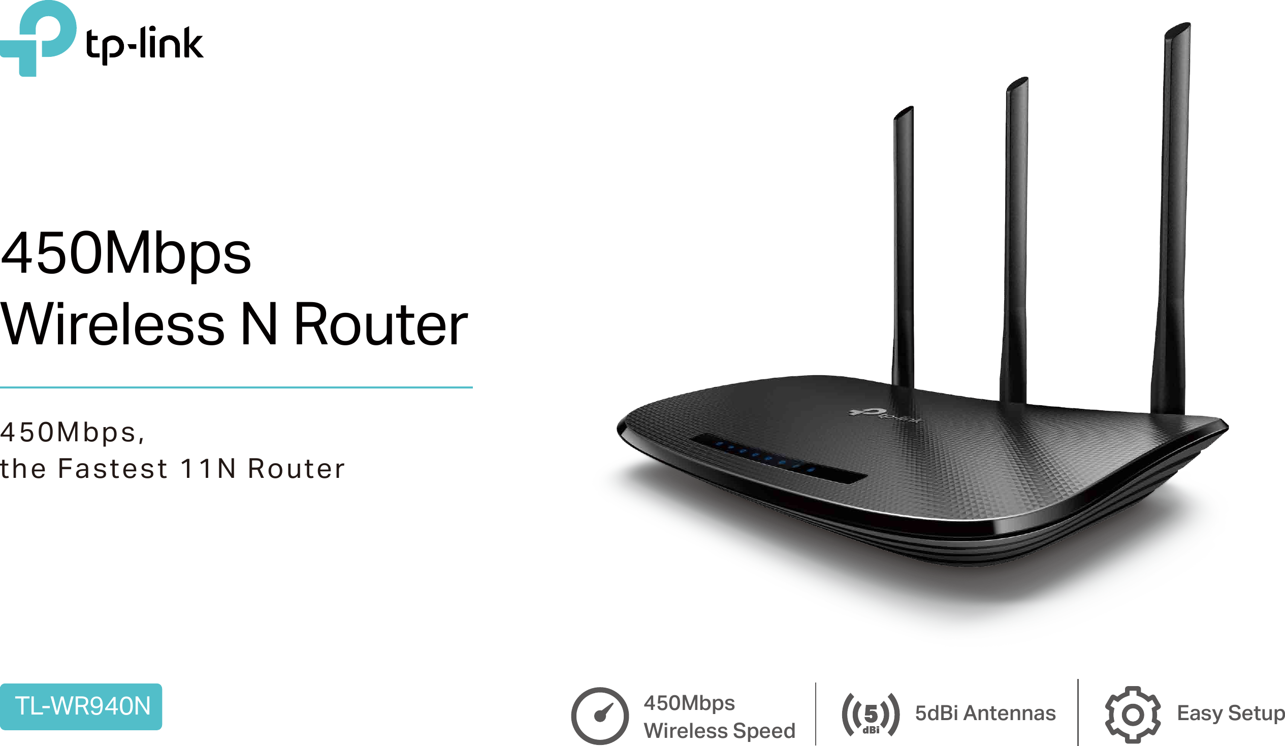 Tl Wr940neu50 Datasheet Wr940n V5 Tp Link Wireless Router 450mbps