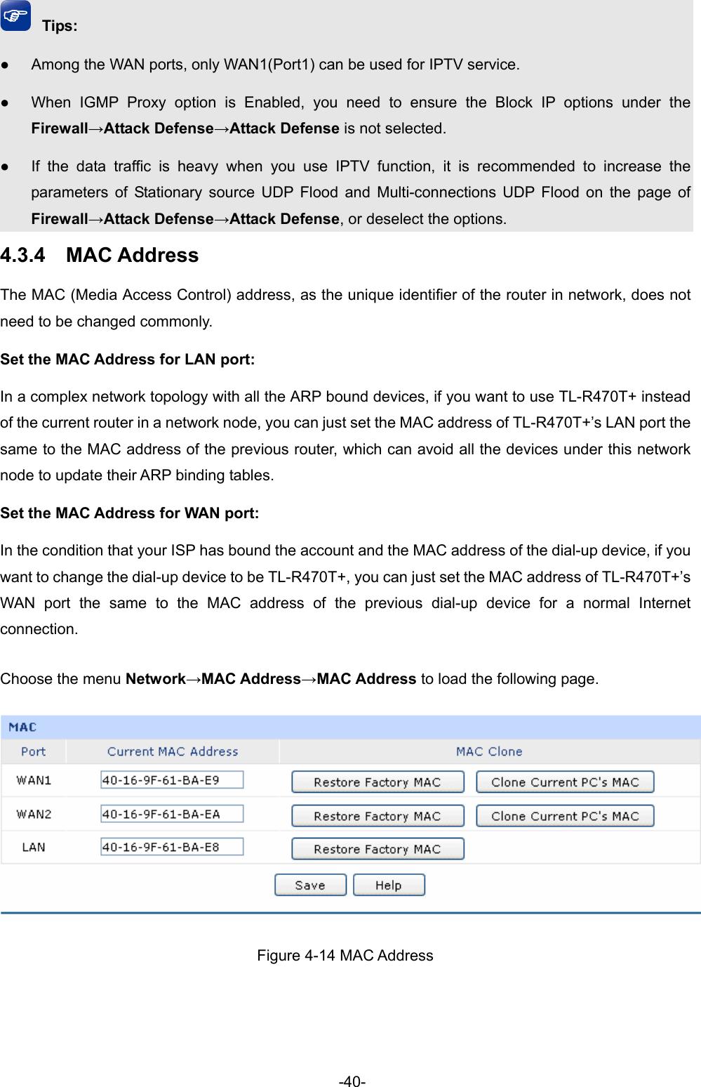 Tp Link Tl R470T V4 User Guide
