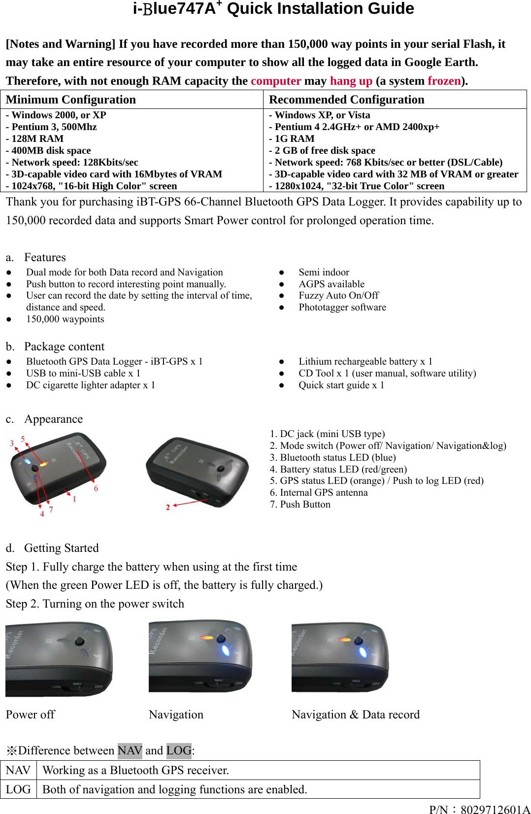 Transystem 971260101 Gps Trip Recorder User Manual Userman 3 Way Navigation Switch