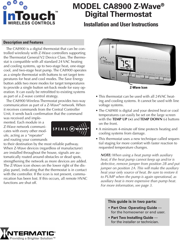 Trane ca8900 users manual sciox Images