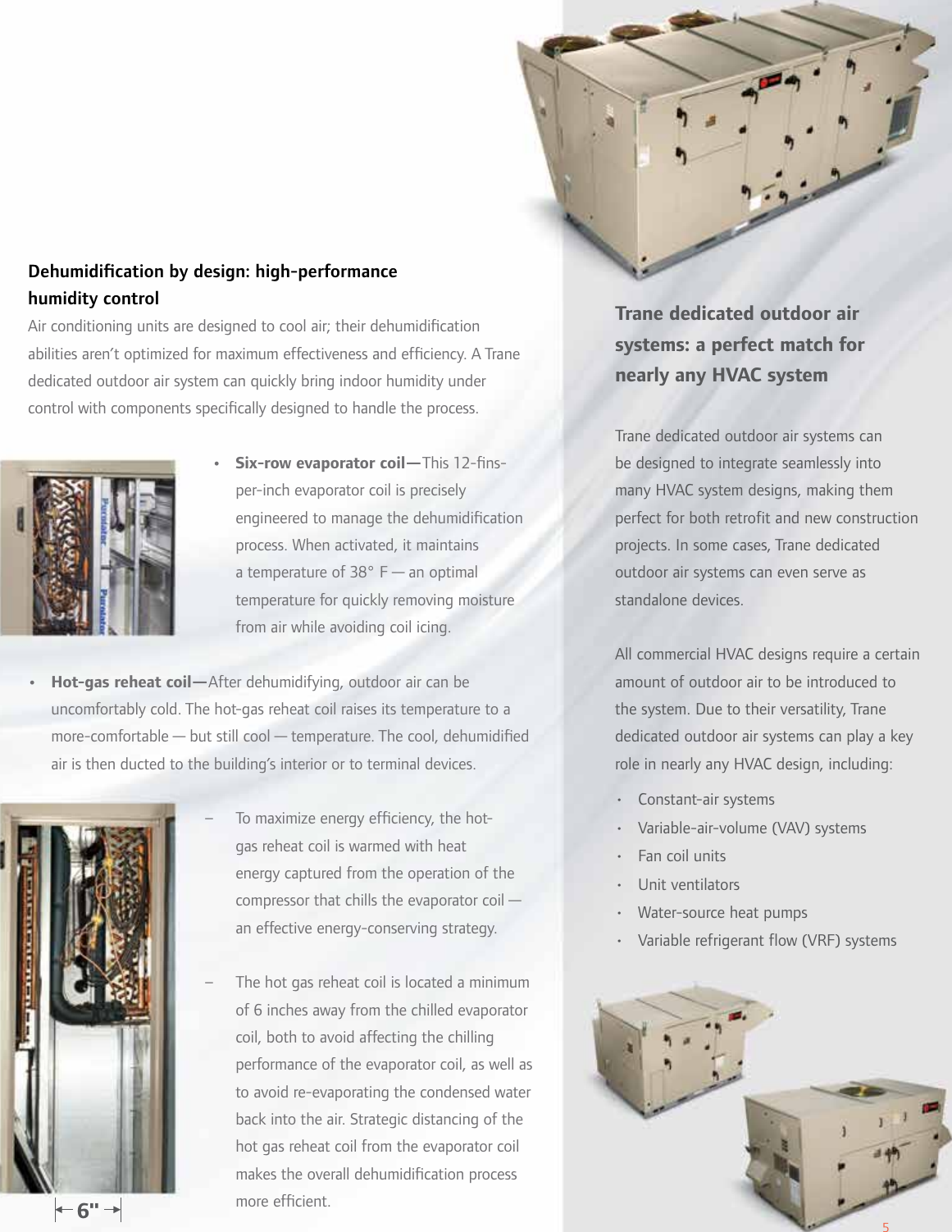 Trane Dedicated Outdoor Air Systems Brochure