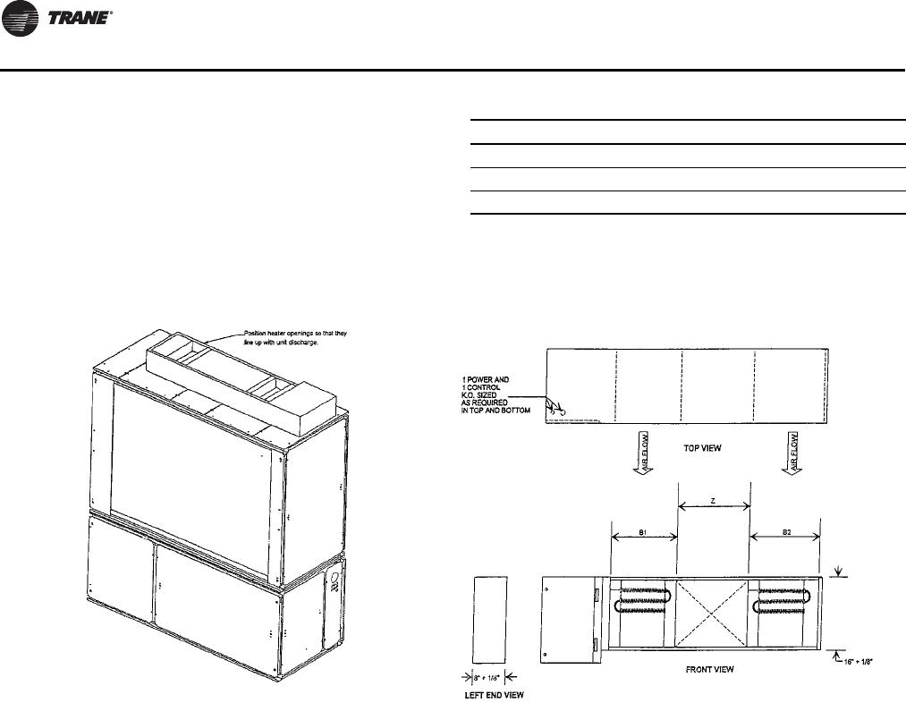 Trane Modular 20 To 35 Tons Installation And Maintenance