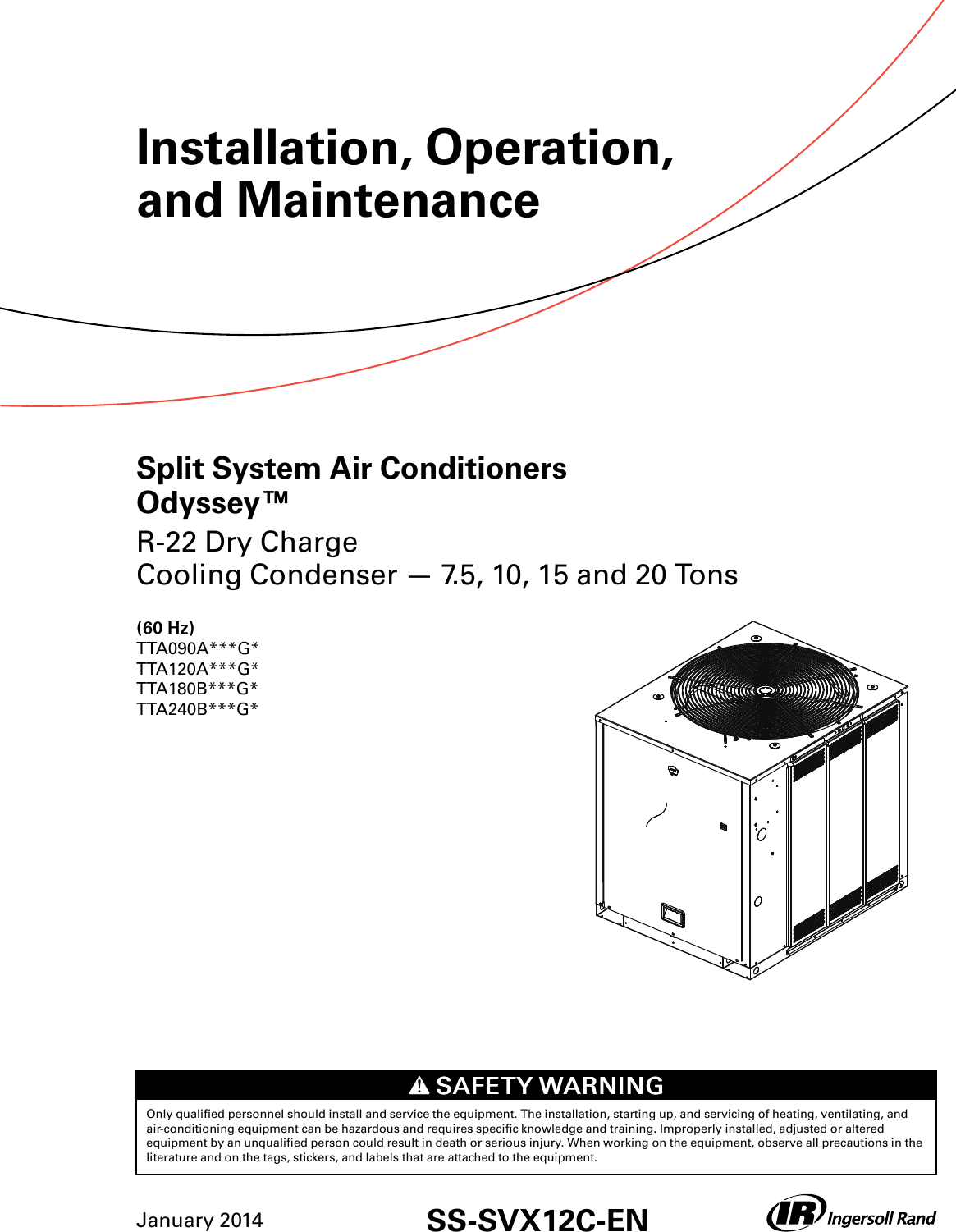 rdi refrigeration unit wiring diagrams trane odyssey 6 to 25 tons installation and maintenance manual  trane odyssey 6 to 25 tons installation