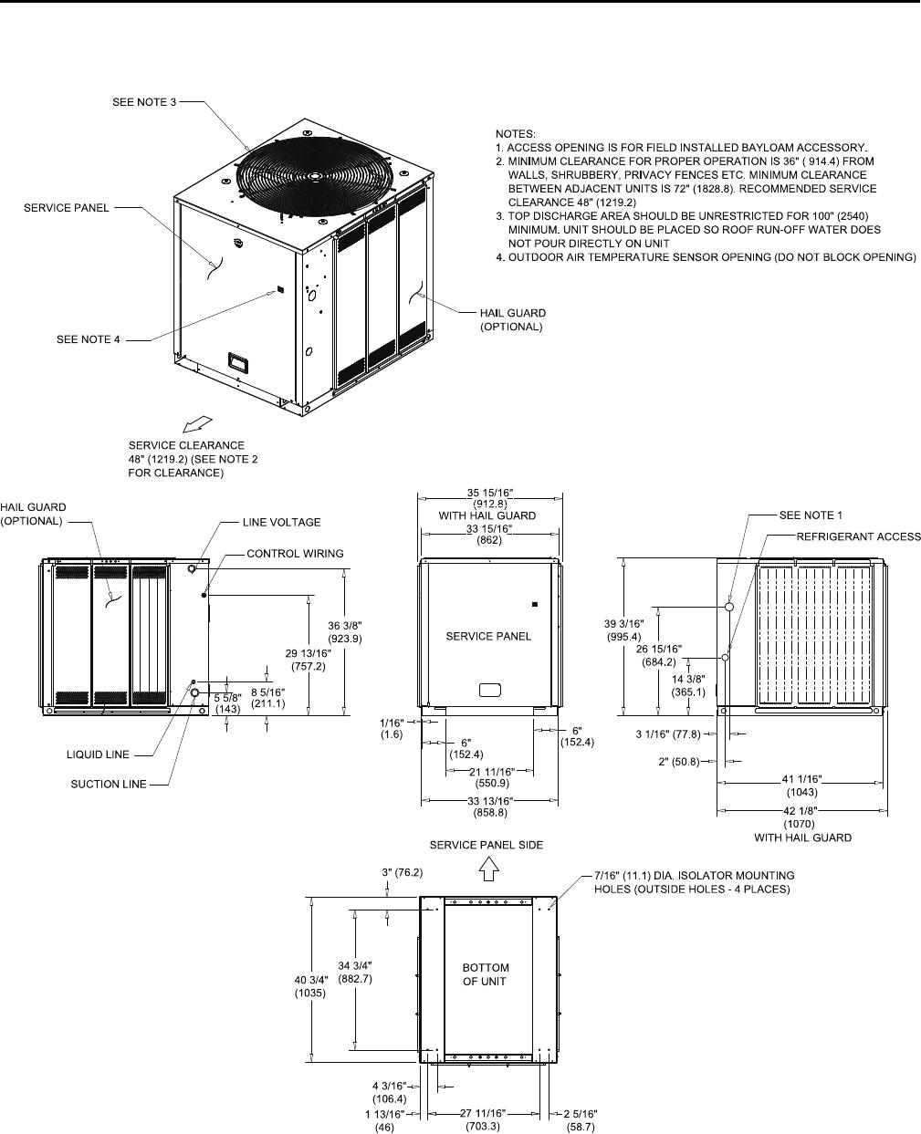 Trane Odyssey 6 To 25 Tons Installation And Maintenance Manual Split Pressor Wiring Diagrams Model Ssp Svx15c En 11