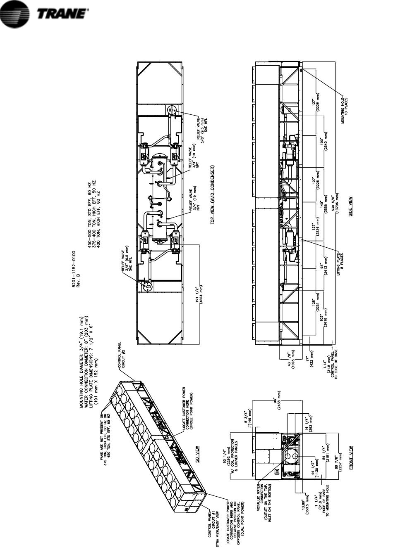 Trane Rtac 140 400 Users Manual Svx01f En 01  01  2006 Iom Series R Air Cooled Helical Rotary
