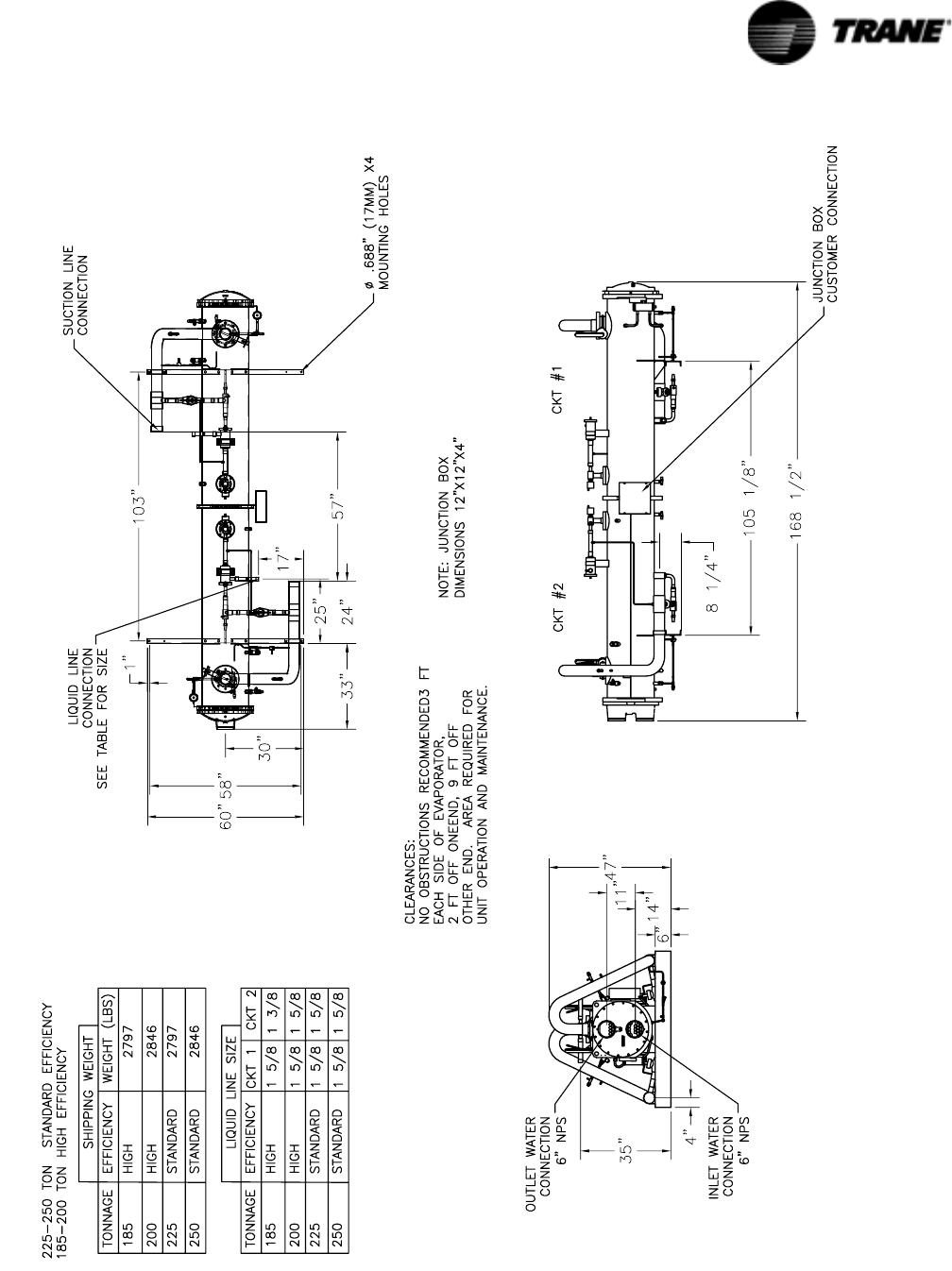 Trane Rtac 140 400 Users Manual Svx01f En 01 2006 Iom Series R Tac 48 Refrigeration Wiring Diagram 25