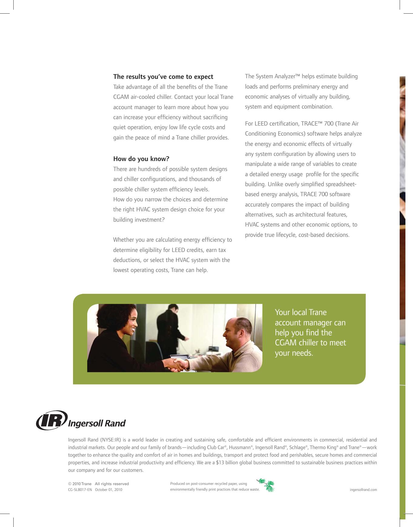 Trane scroll cgam brochure cg slb017 em 1010 sales air cooled page 8 of trane trane scroll cgam brochure cg slb017 xflitez Gallery