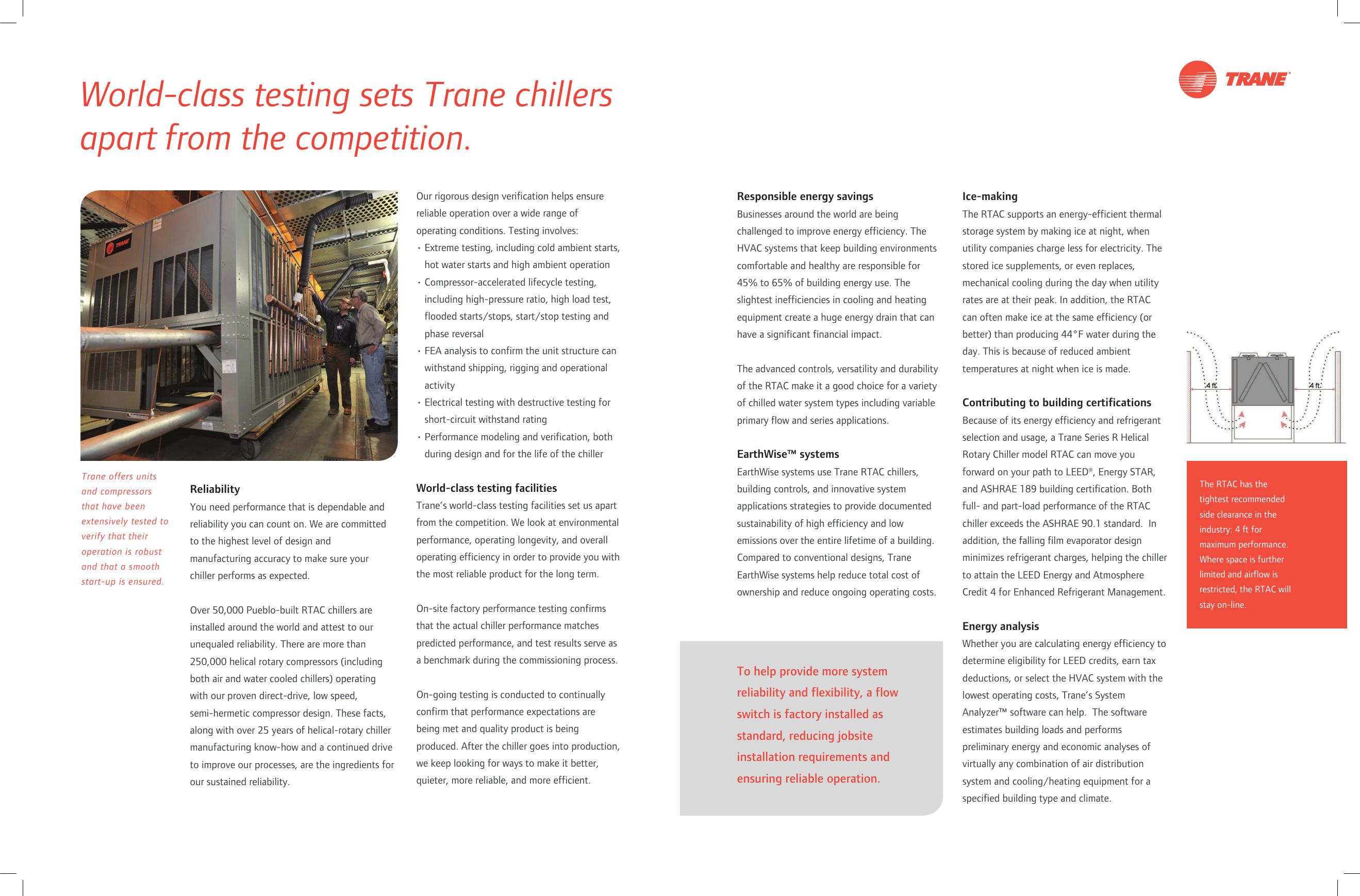 Trane Series R Helical Rotary Rtac Brochure RLC SLB003 EN 10