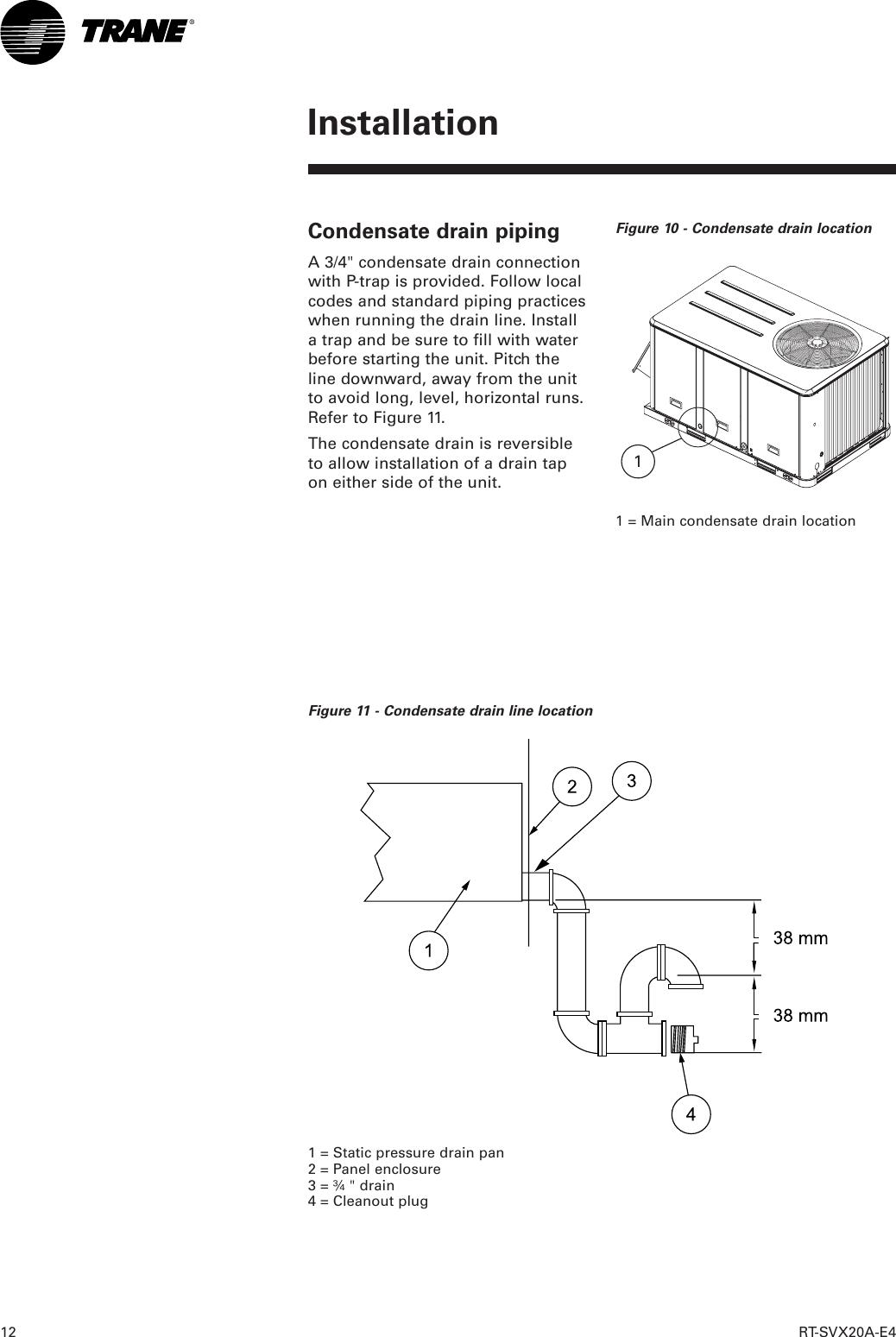 Trane Tsd Users Manual