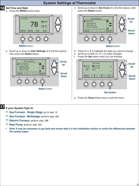 trane tzemt400bb32maa users manual rh usermanual wiki Trane HVAC Thermostats Trane Thermostat ManualsOnline