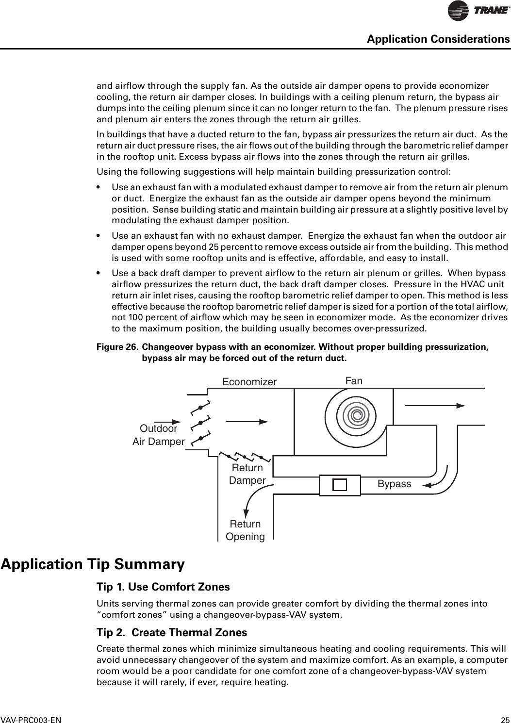 Trane Varitrac Dampers Catalogue VAV PRC003 EN (03/12)