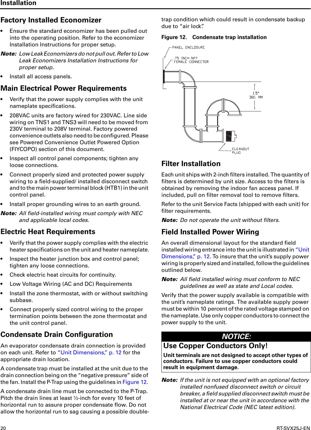 Trane Voyager Manual