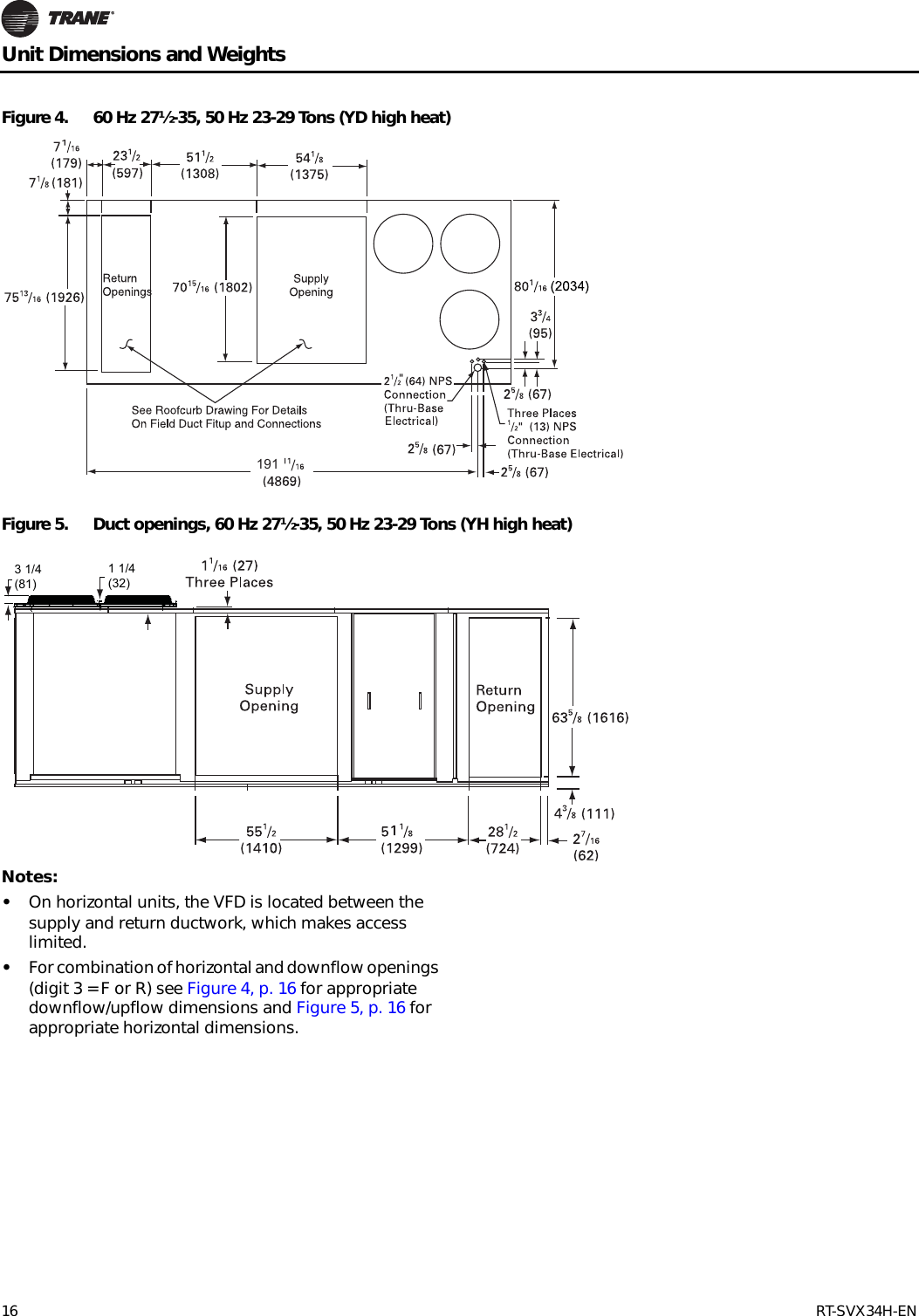 Trane Vfd Wiring Diagrams Schematics 3 Phase Schematic Septic Pump Voyager Commercial 27 5 To 50 Tons