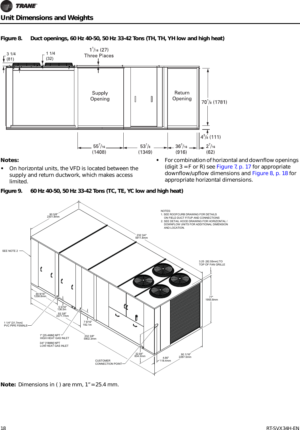 trane xe1000 parts diagram