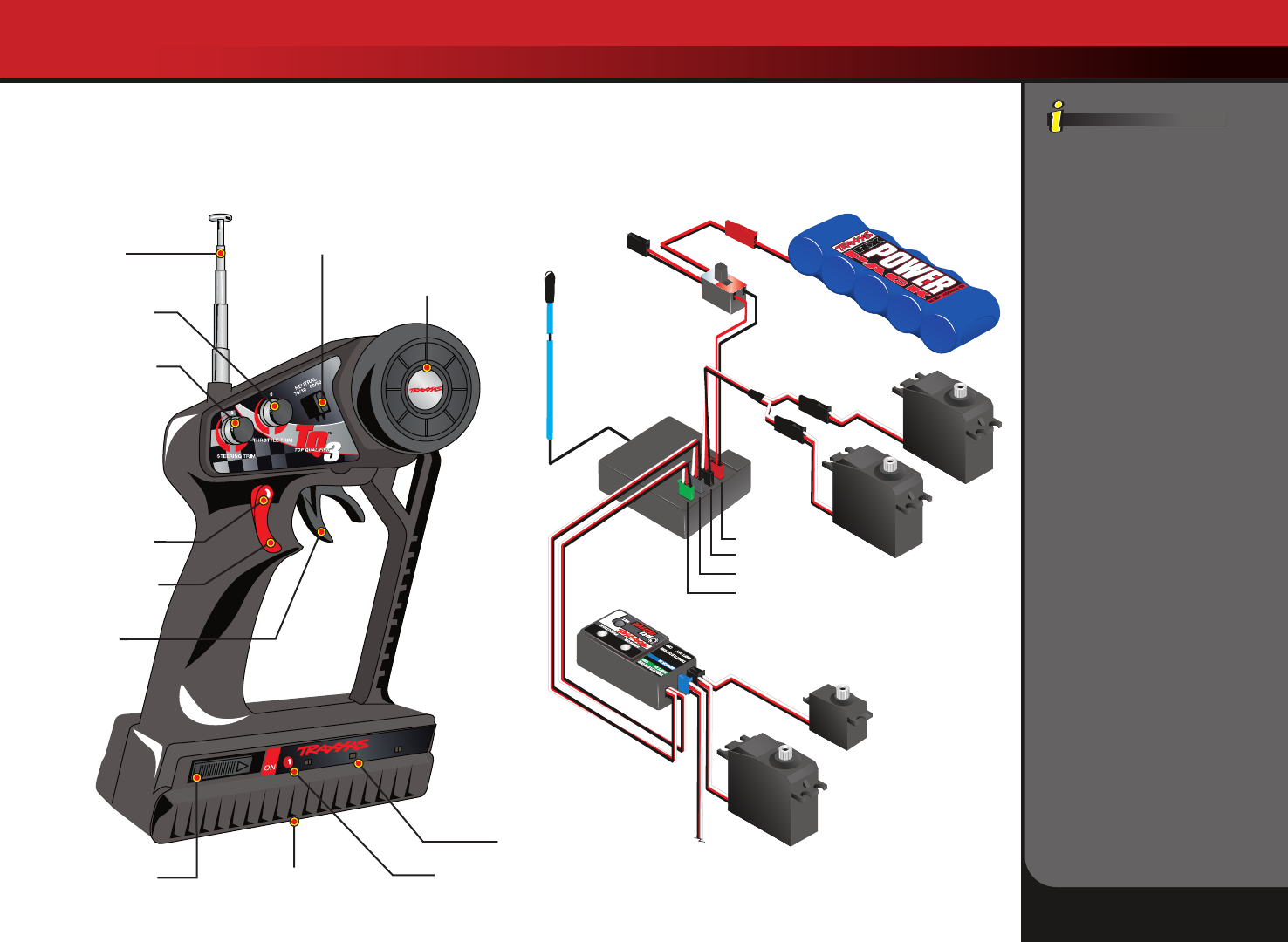 Traxxas Wiring Diagram | Repair Manual on