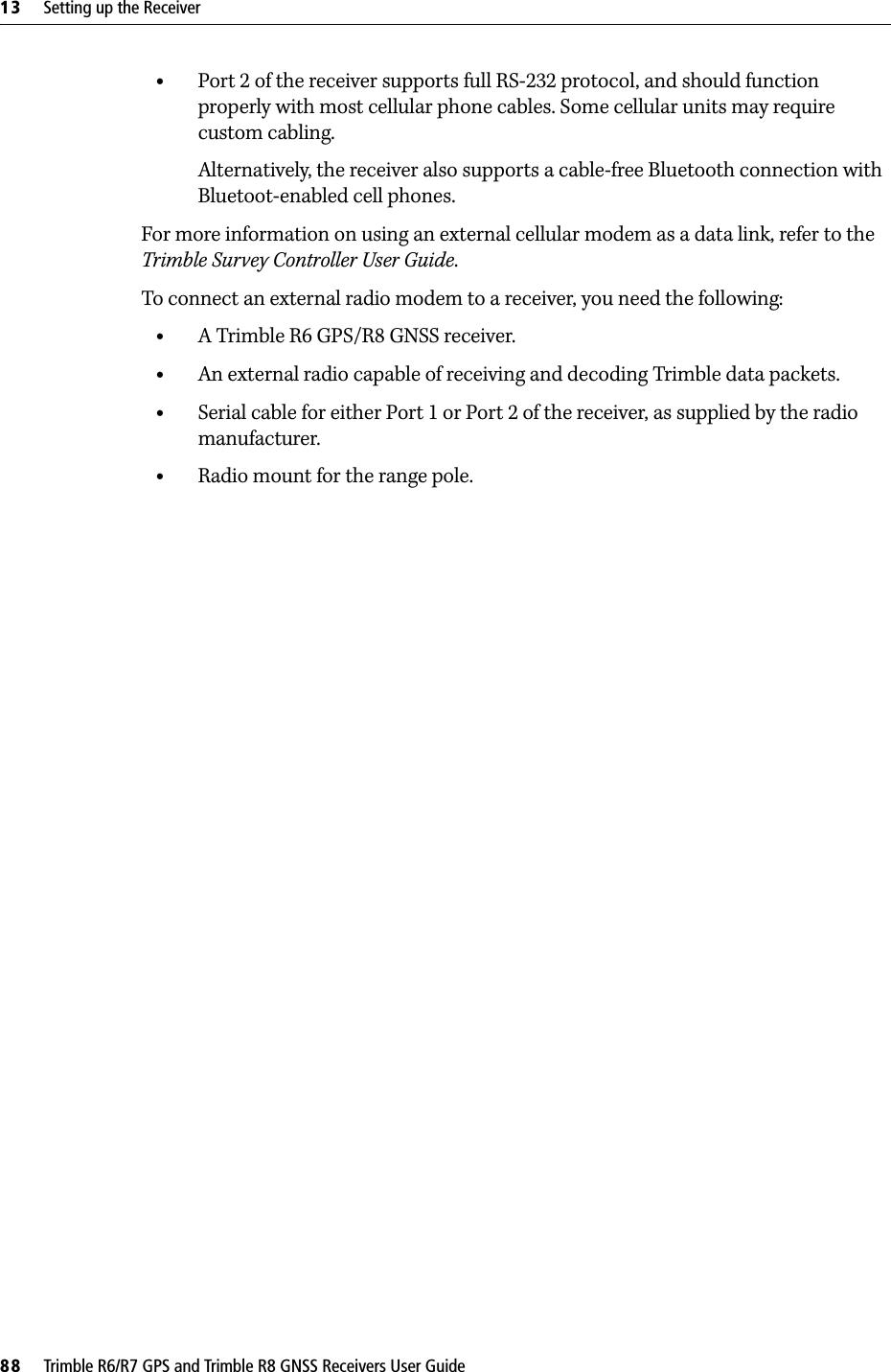 Trimble 5940071-B1 R8 GNSS Receiver User Manual manual