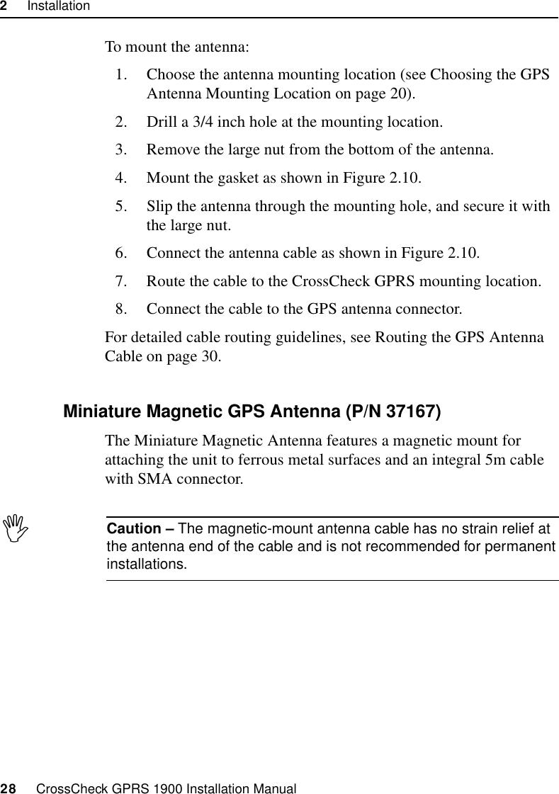Trimble CCKGPRS19 Resource Management System User Manual CC GPRS