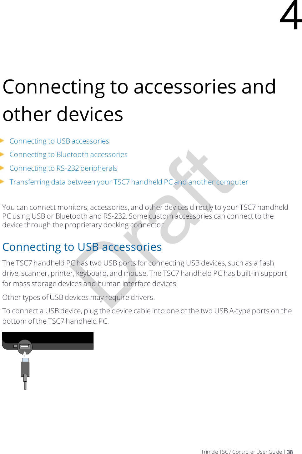 Trimble EM7455 Radio Module User Manual Trimble TSC7 Handheld PC