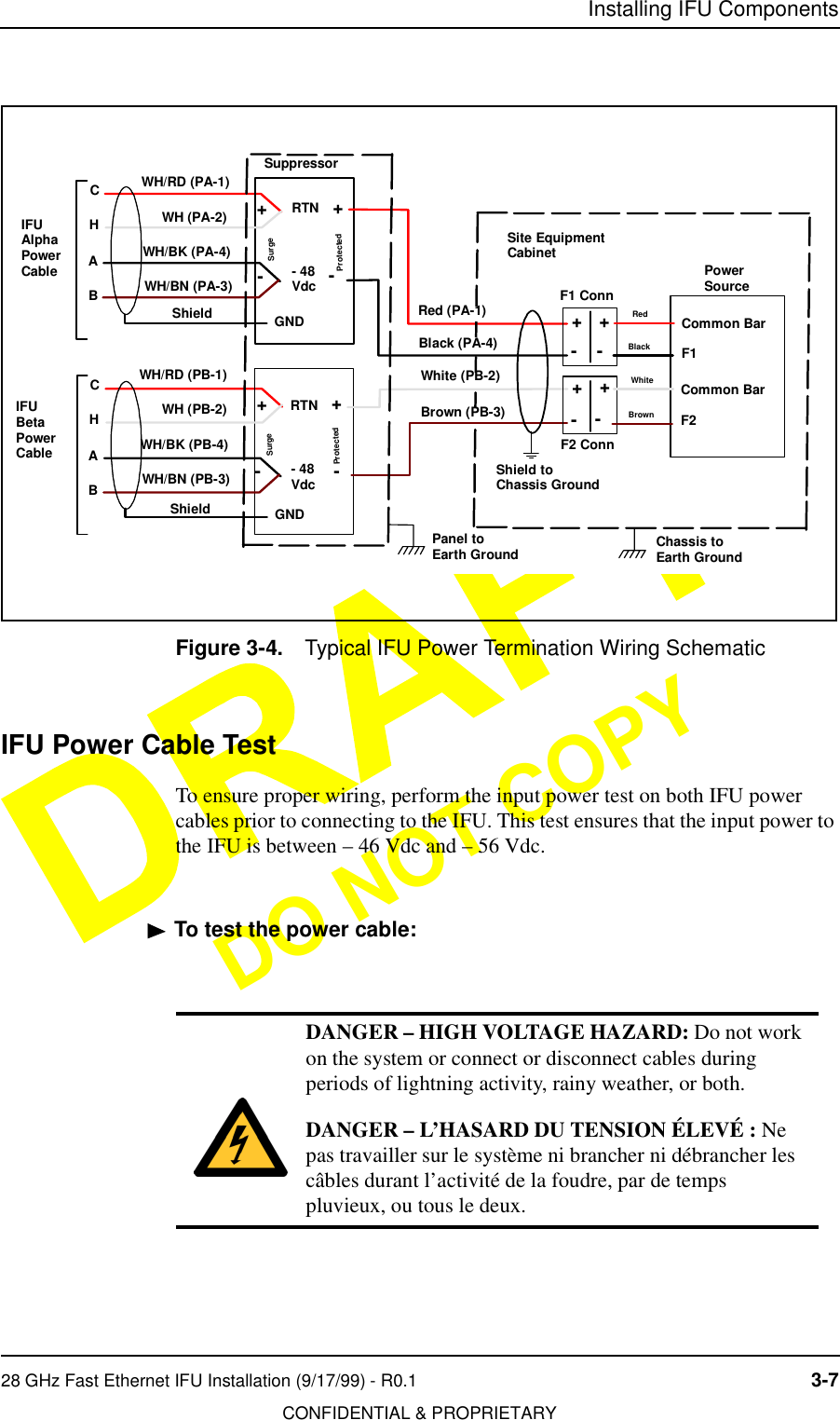 installing ifu components28 ghz fast ethernet ifu installation (9/17/99) -