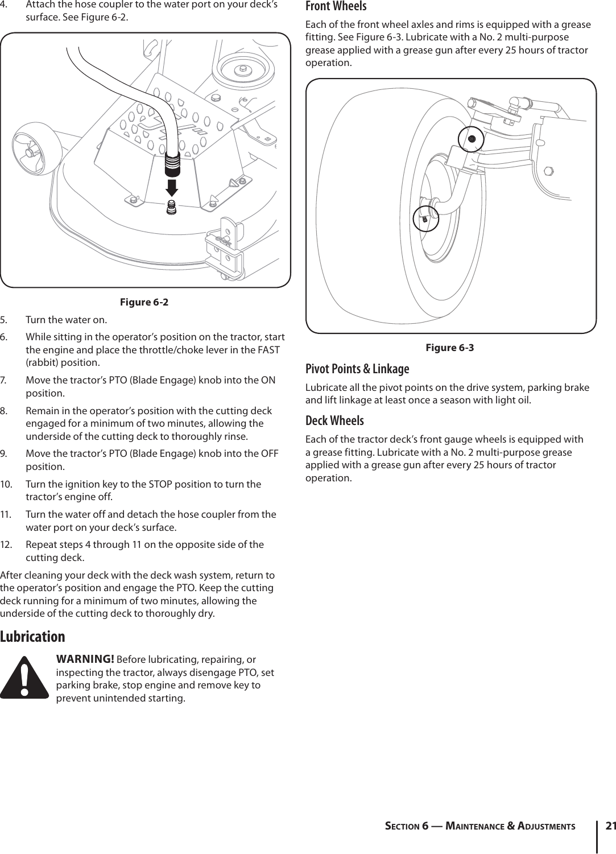 Troy Bilt Tb2654 Garden Tractor Owner S Manual