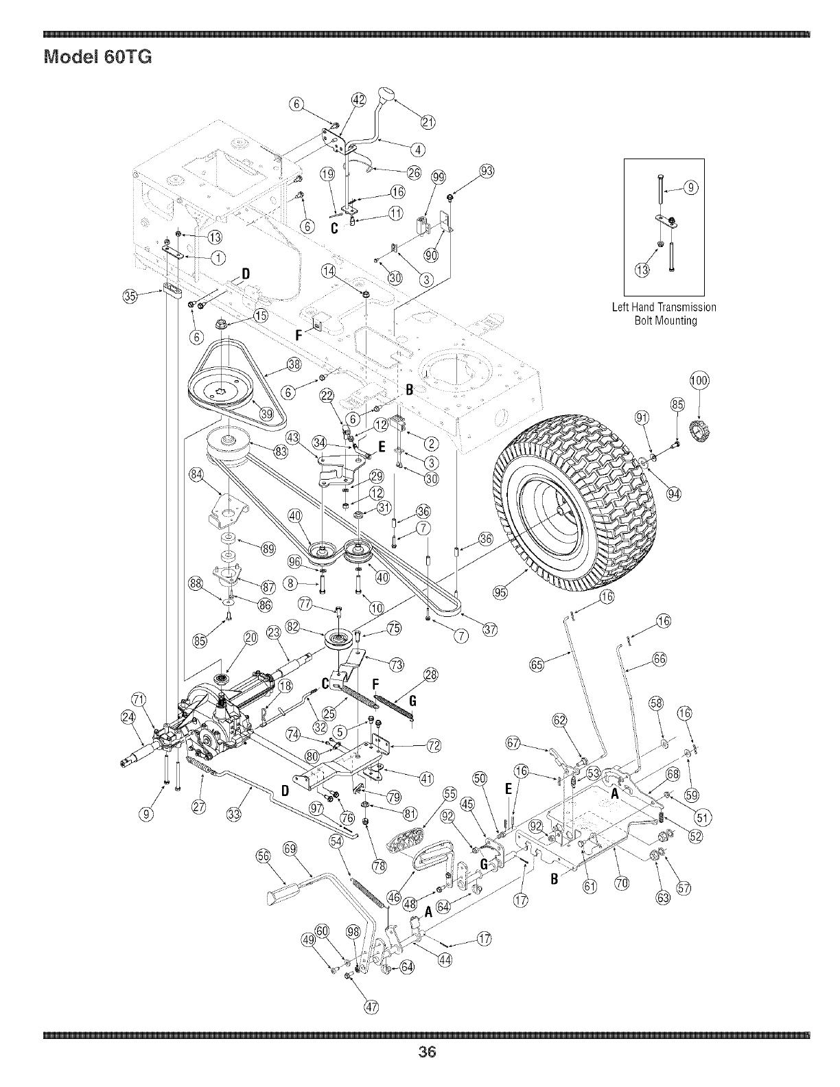 Troy Bilt 60tg Wiring Diagram Mitsubishi Diagrams Delta Weed Eater Simplicity Tg On