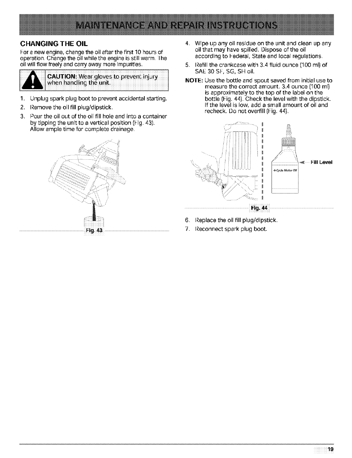 Troybilt 41bdt49c063 user manual 4 cycle gas trimmerbrushcutter changing the oil fandeluxe Choice Image